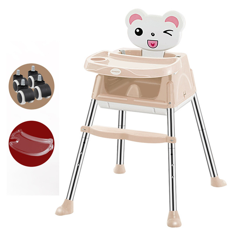 Shenone Baby Feeding Chair / Wholesale Multi-Function Moving Plastic Baby High Chair for Restaurant