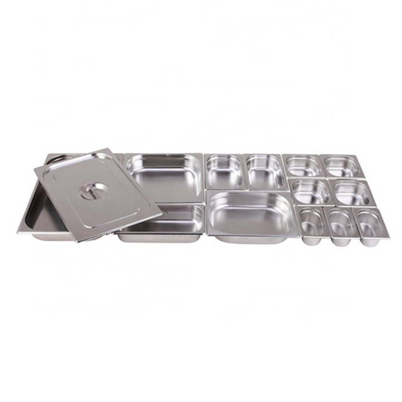 Hot Selling Stainless Steel American Style Containers Food Pan for Buffet