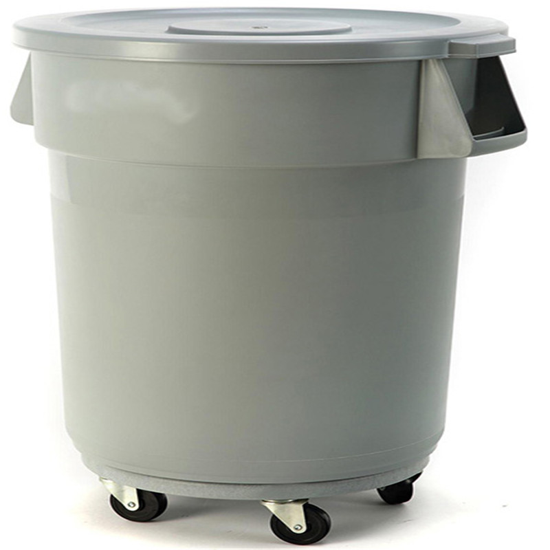 Shenone 100 L Square Big Size Plastic Dustbin Garbage Container Waste Bin