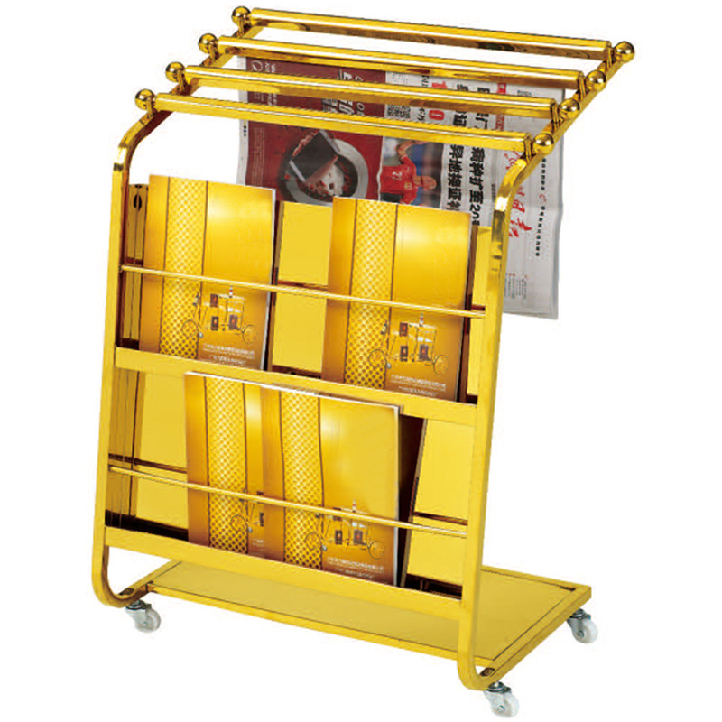 Shenone Wholesale Hotel Newspaper Racks Magazine Display Racks001